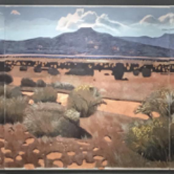 Road to Mesa Pedernal
