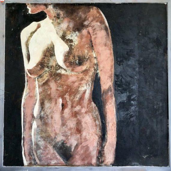 Nude Portrait of B