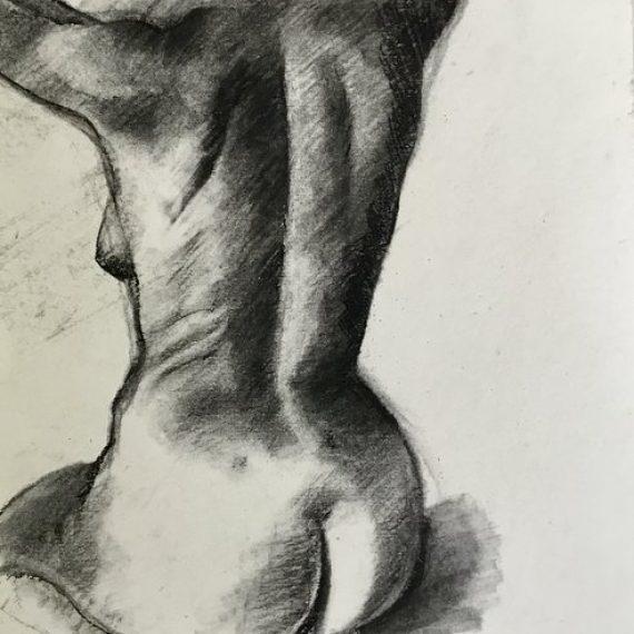 Kneeling Nude: